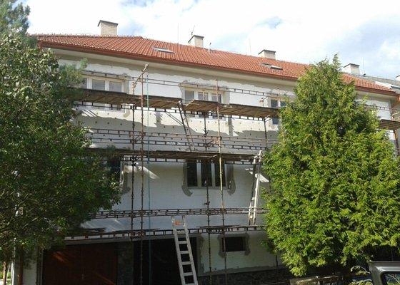 Zateplení bytového domu Velká Bíteš