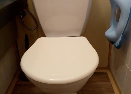 Instalace nového WC