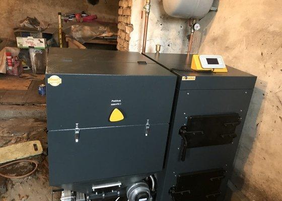 Dodání a výměna kotle na tuhá paliva za automatický kotel v RD