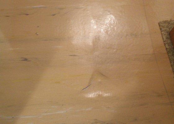 Rekonstrukce  podlahy obývacího pokoje cca 20m2