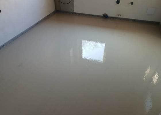 Potěr pro podlahové vytápění