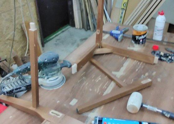 Rozklížené kuchyňské židle
