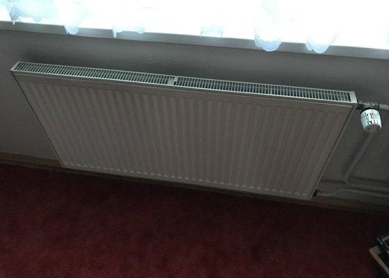 Výměna dvou radiátorů