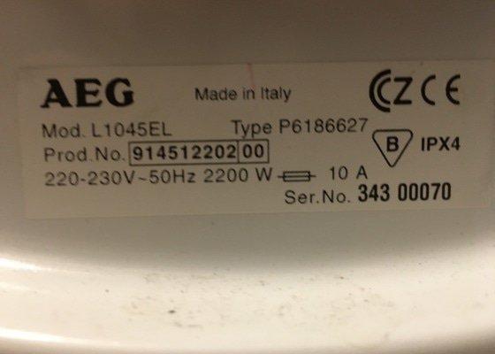 Výměna gumového těsnění okolo bubnu pračky AEG