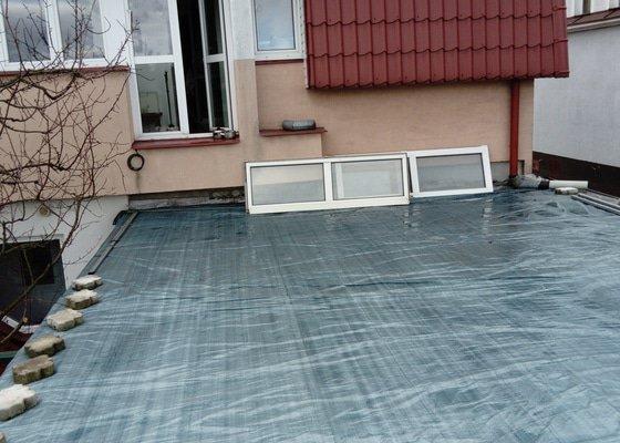 Oprava ploché střechy 8x6m