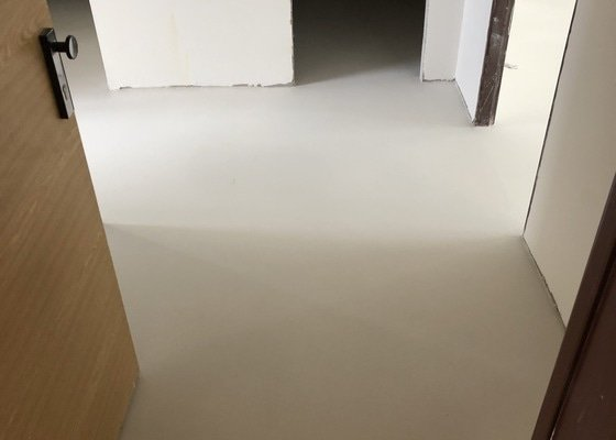 Vyrovnání podlahy
