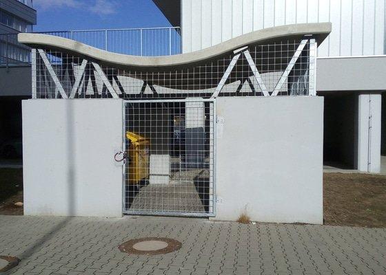 Výroba 2x ocelové mříže na zámek