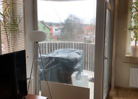 Výměna skla u francouzského okna