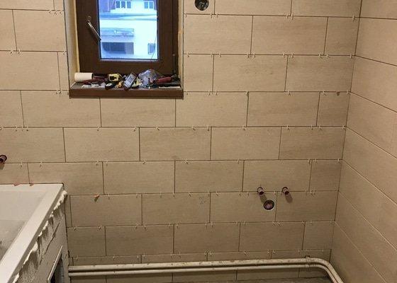 Rekonstrukce koupelny,
