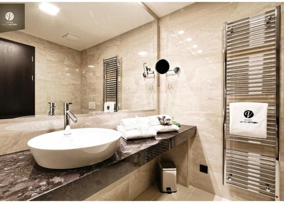 Obklady koupelen - pokoje pro hosty