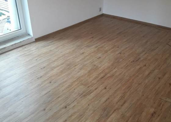 Položení vinylové podlahy 21m2
