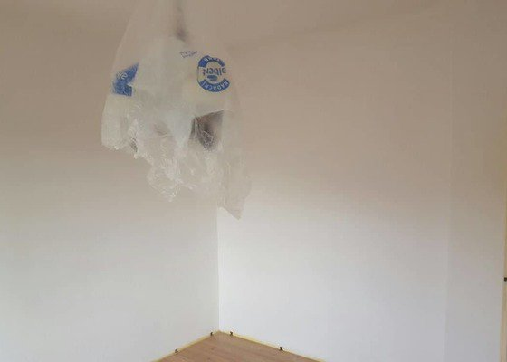 Malování pokoje 60m2 na bílo