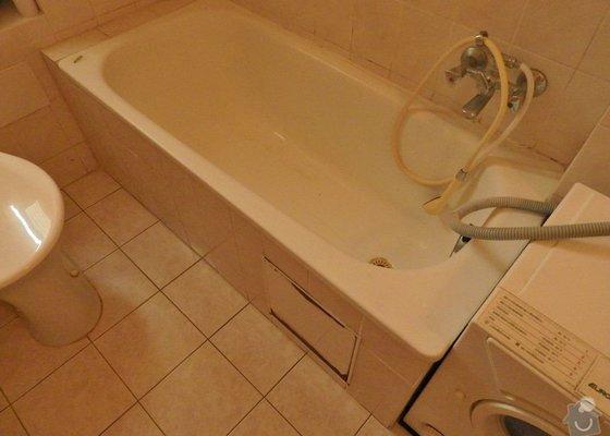Výměna sprchové vodovodní baterie u vany