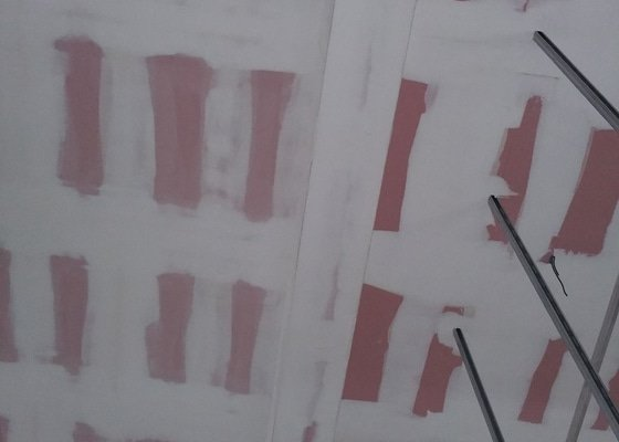 Protipožární podhled/podkroví