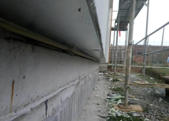 Zateplení soklové části domu