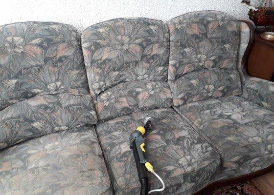 Tepování sedačky