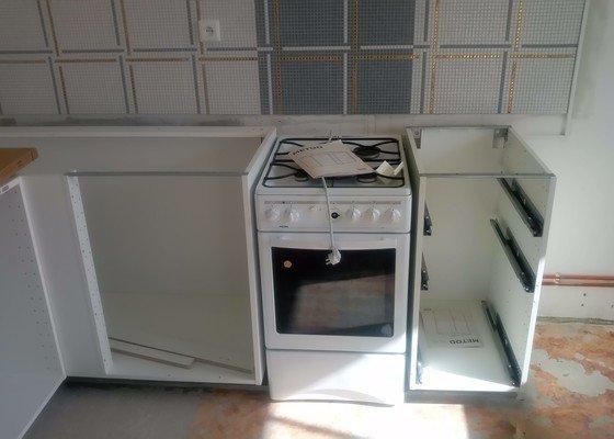 Dokončení instalace kuchyně