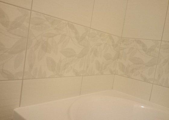 Oprava obkladaček v koupelně
