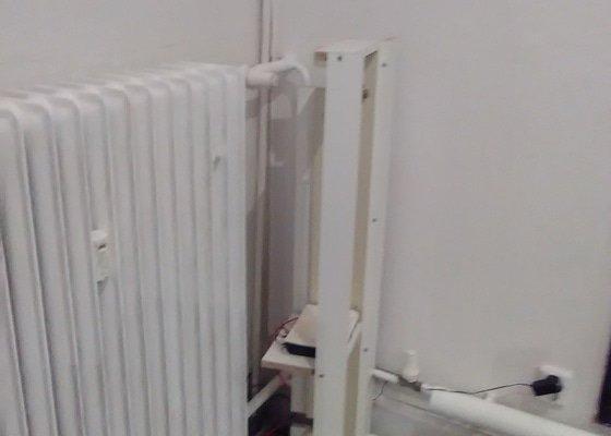 Výroba krytu na radiátor