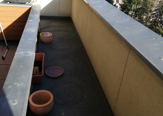 Úprava terasy u bytu v terasovém domě