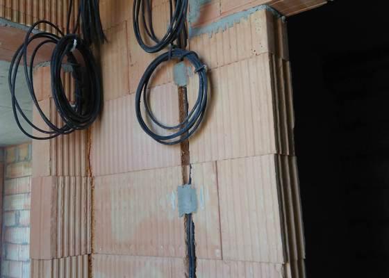 Elektroinstalace bytu v panelovém domě