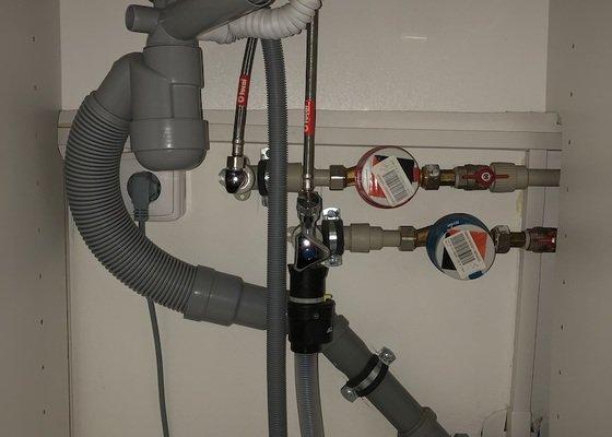 Instalace nezámrzného ventilu