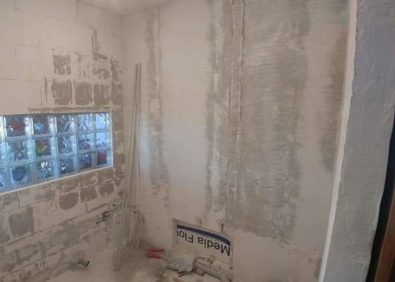 Rekonstrukce koupelny Praha - Chodov