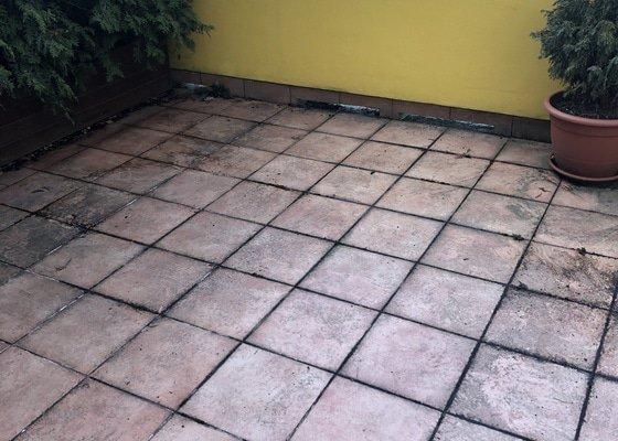 Kamenný koberec na terasu cca.48m2