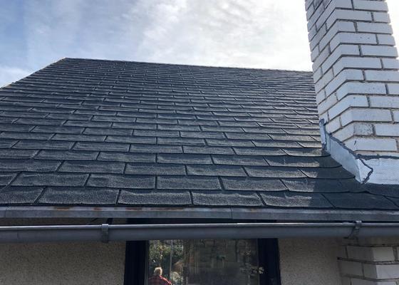 Renovace sindelove strechy