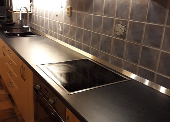 Výměna kuchyňské desky
