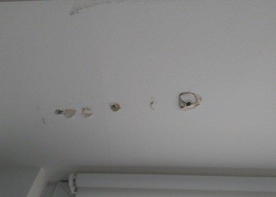 Montáž projekčního plátna do sádrokartonového stropu