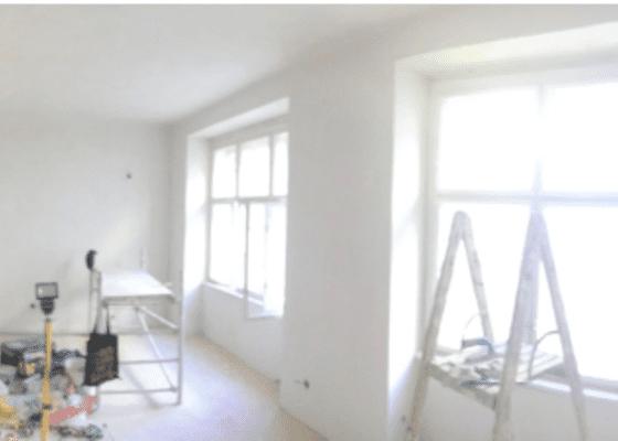 Malování bytu po rekonstrukci