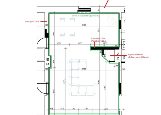 Stavba SDK podhledu