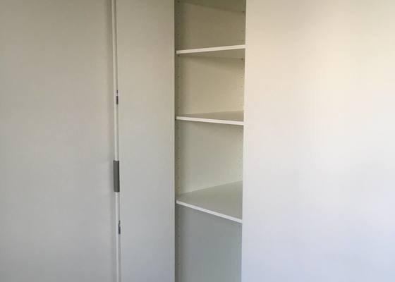 Vyroba a montaz 2x vestavena skrine