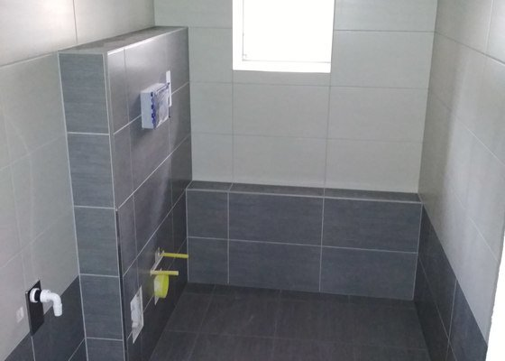Dodělat koupelnu a WC