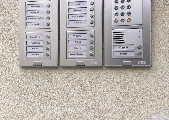 Výměna domovních zvonků