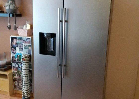 Instalace americke lednice Samsung, pripojeni na vodu, pripojeni filtru