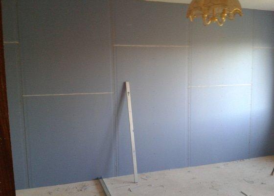 Odhlučnění stěn RD Plzen