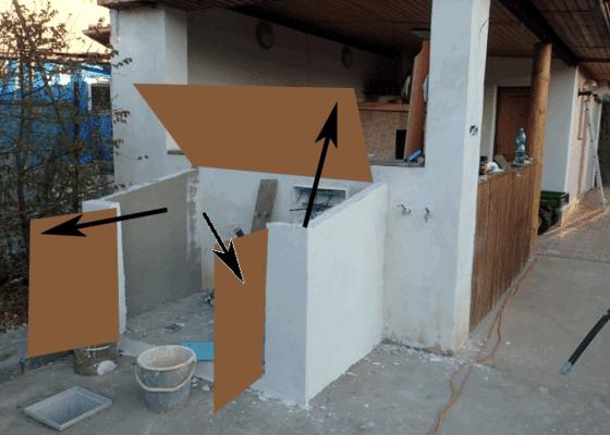 Poptavám zámečnické práce - plechové víko + dveře