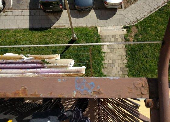 Nový nátěr balkonů