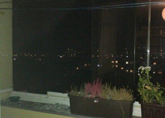 Zasklení 1 okna lodžie