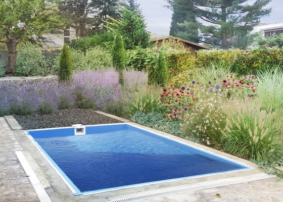 Návrh a realizace okrasné zahrady Praha čakovice