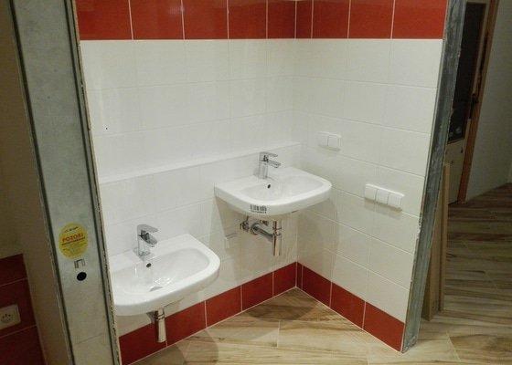 Rekonstrukce koupelny a úprava bytu na bezbariérový