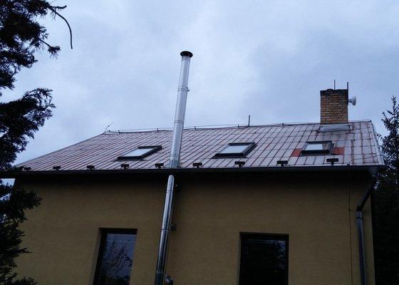 Oprava plechové střechy