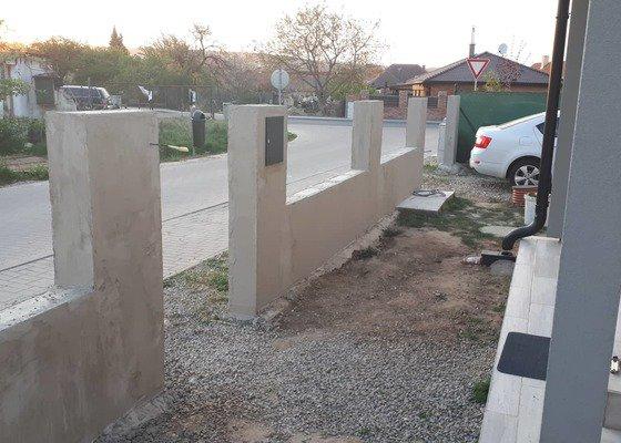 Omítnutí plotu