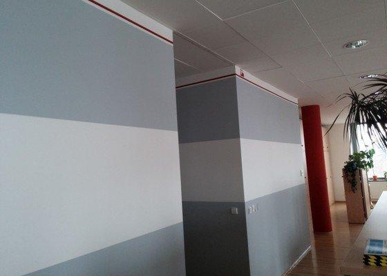 Malování 3 pokojů v bytě