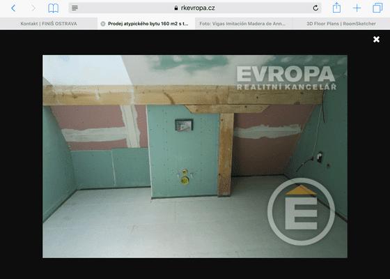Betonová stěrka v koupelně