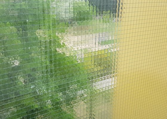 Výměna balkonových skel za nová.