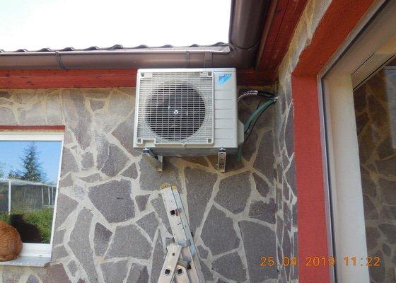 Klimatizace pro zimni zahradu sidla firmy