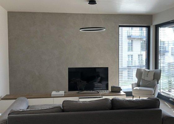 Cementová stěrka / imitace betonu